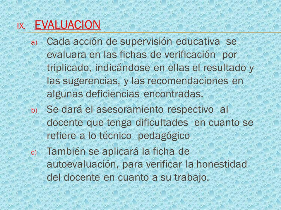 Plan anual de supervision educativa de la institucion for La accion educativa en el exterior