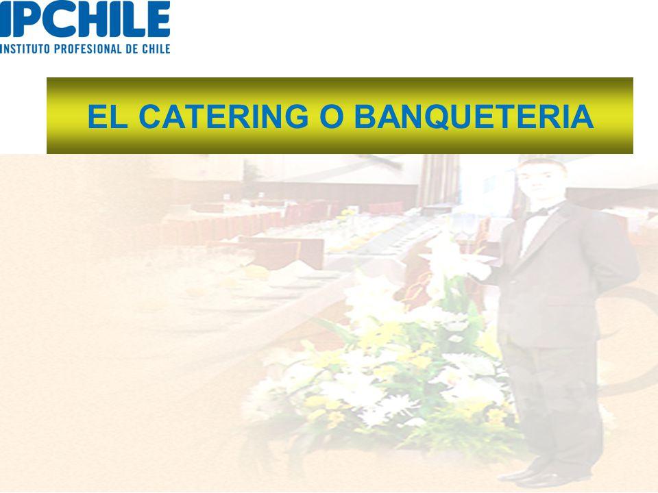 EL CATERING O BANQUETERIA