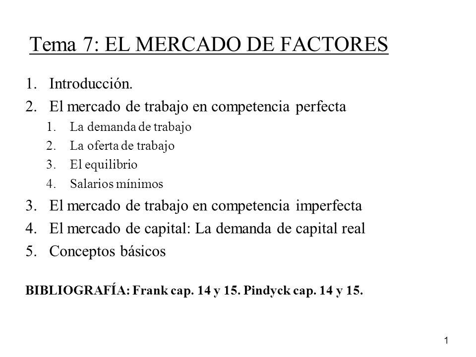 Tema 7 el mercado de factores ppt descargar - Ofertas de trabajo en puerto real ...