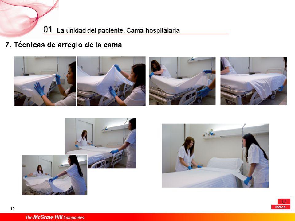 01 1 la unidad de enfermer a 2 la unidad del paciente for Cama ocupada