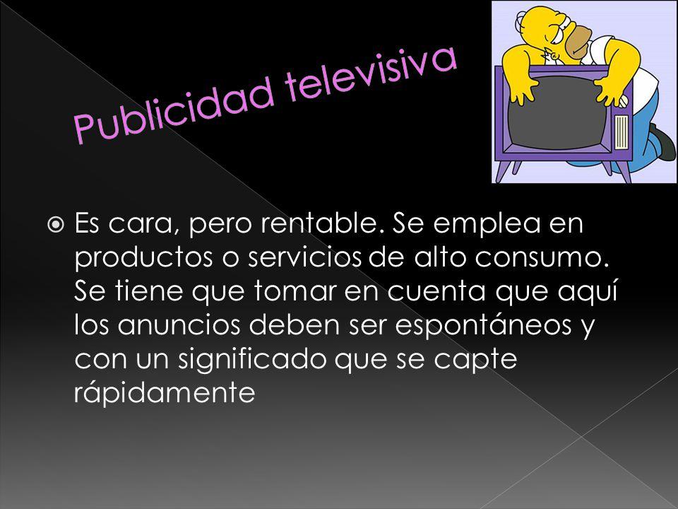 Publicidad televisiva
