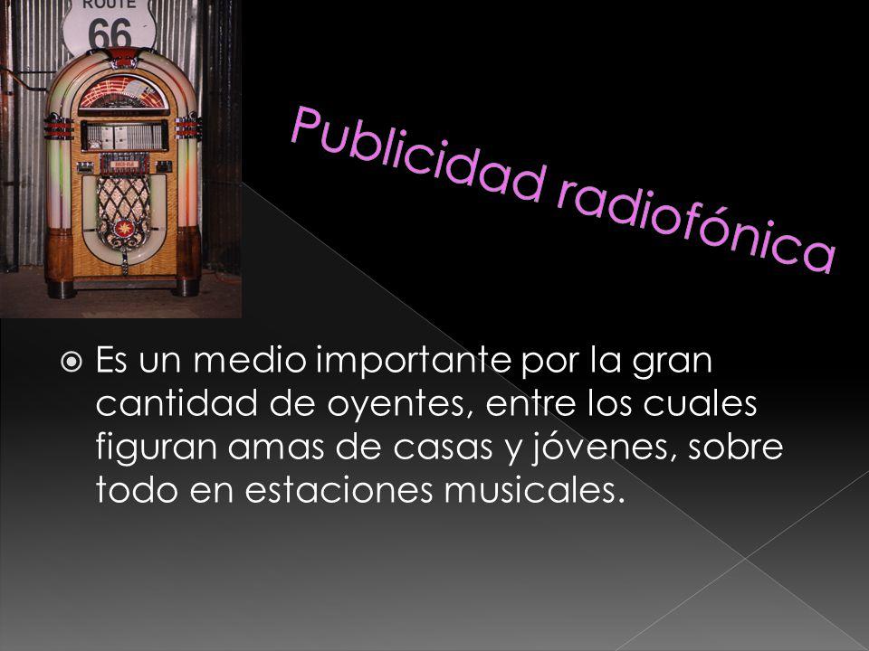 Publicidad radiofónica