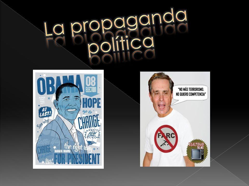 La propaganda política