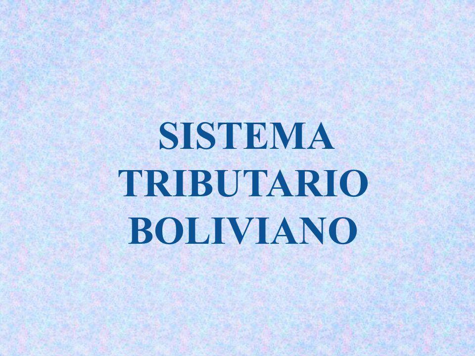 Resultado de imagen para TRIBUTARIO EN BOLIVIA