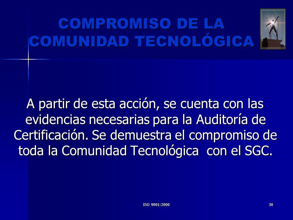 COMUNIDAD TECNOLÓGICA