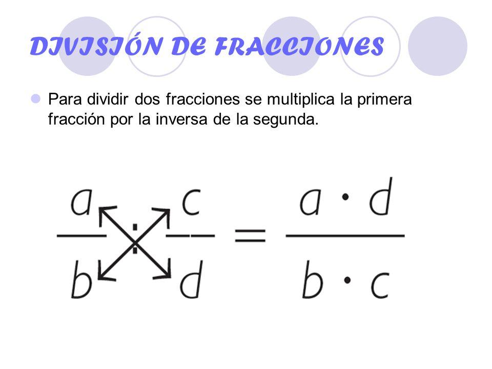 Resultado de imagen para división de fracciones con enteros