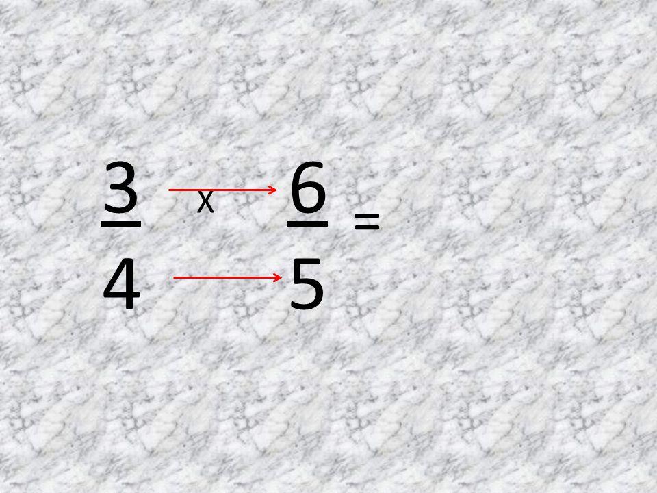 3 X 6 4 5 =