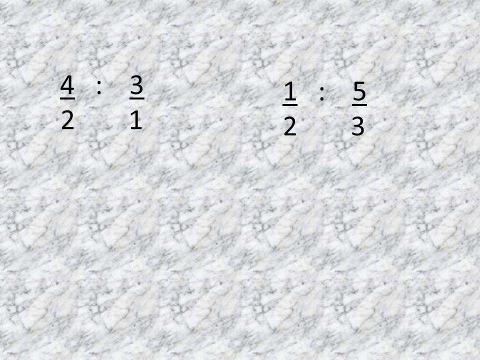 1 : 5 2 3 4 : 3 2 1