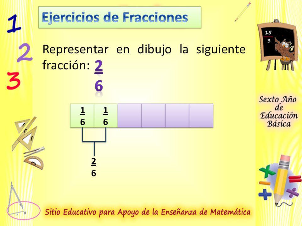 2 6 Ejercicios de Fracciones