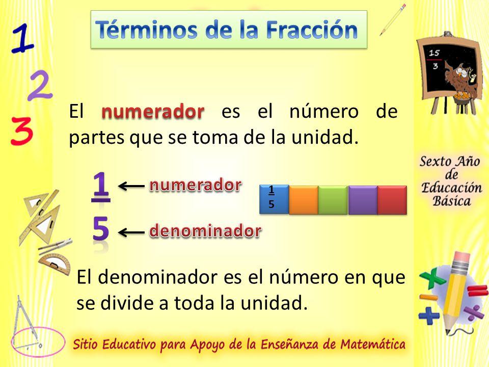 1 5 Términos de la Fracción