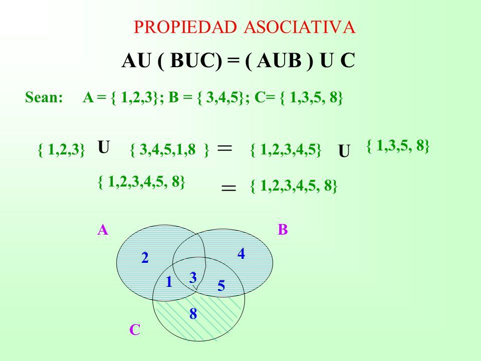 Mdulo de matemtica las proposiciones los conjuntos y las au buc aub u c propiedad asociativa u u ccuart Image collections
