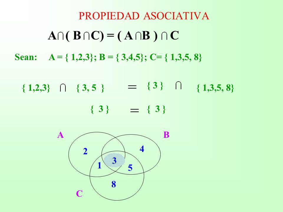 Mdulo de matemtica las proposiciones los conjuntos y las a b c a b c propiedad asociativa ccuart Image collections