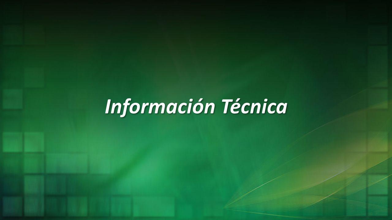 Información Técnica