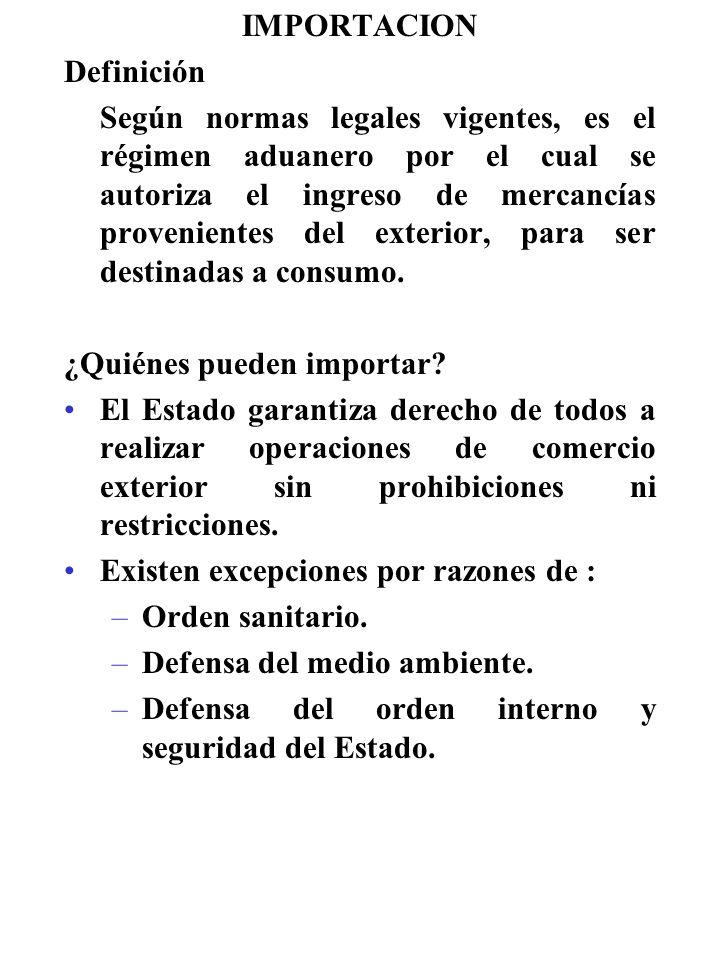 Importacion definici n ppt descargar for Definicion exterior