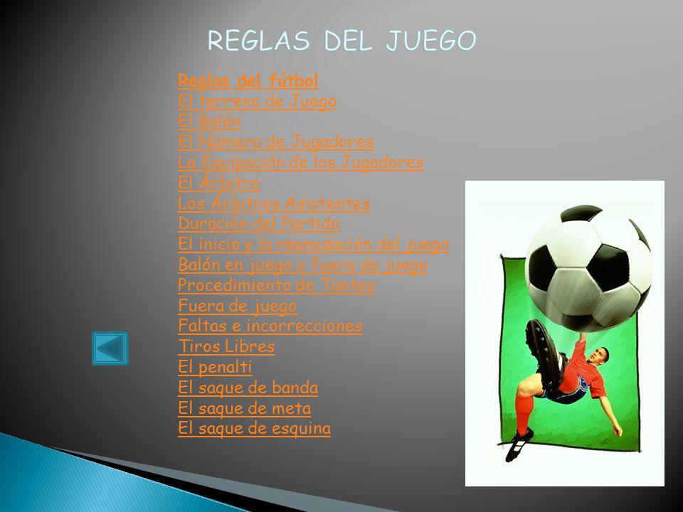 Julio cesar camacho flores trabajo eres deportista ppt for Regla de fuera de juego en futbol