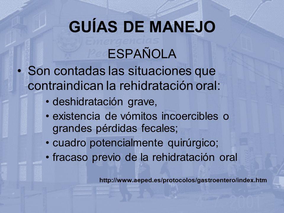 GUÍAS DE MANEJO ESPAÑOLA