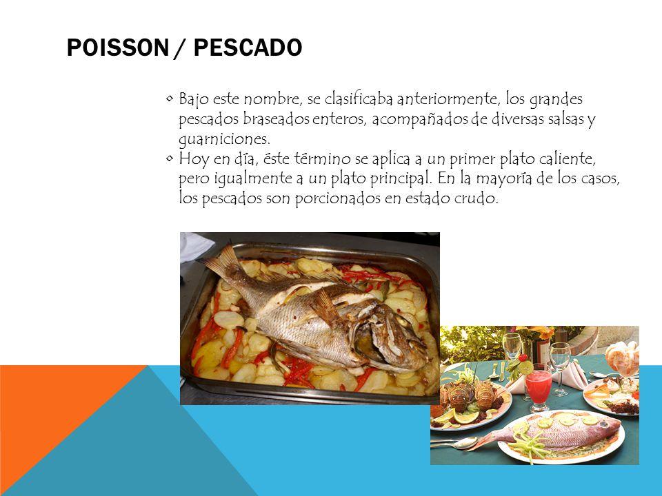Poisson / Pescado