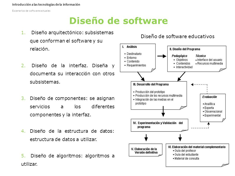 Escenarios de software actuales ppt descargar for Software de diseno arquitectonico