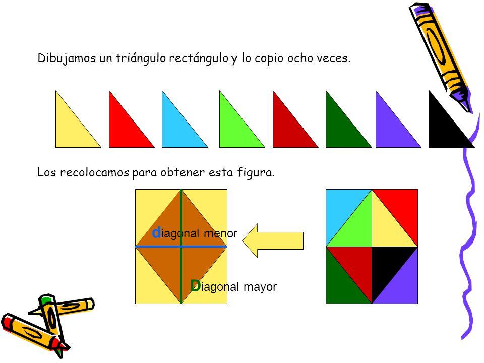 diagonal menor Diagonal mayor