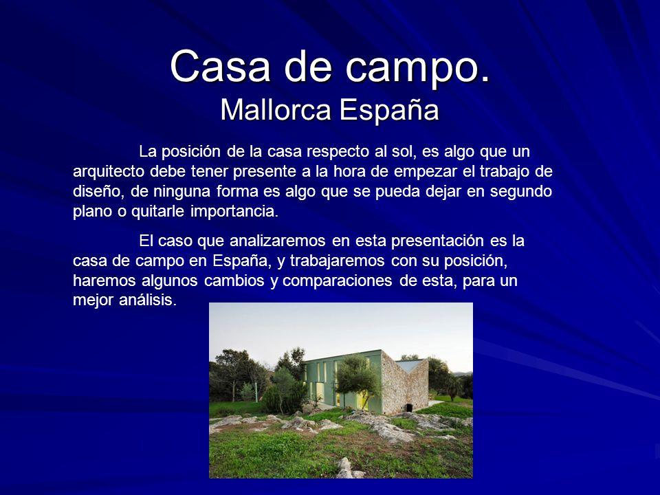 Casa de campo mallorca espa a ppt descargar - Trabajo de arquitecto en espana ...