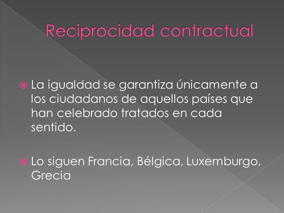 Reciprocidad contractual