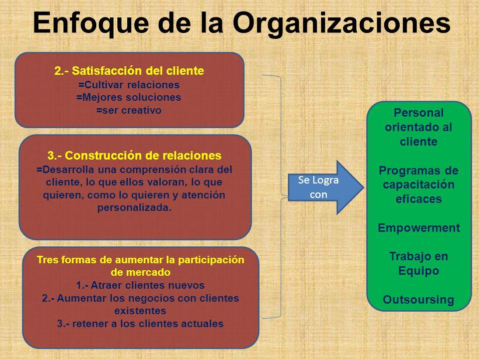 Enfoque de la Organizaciones