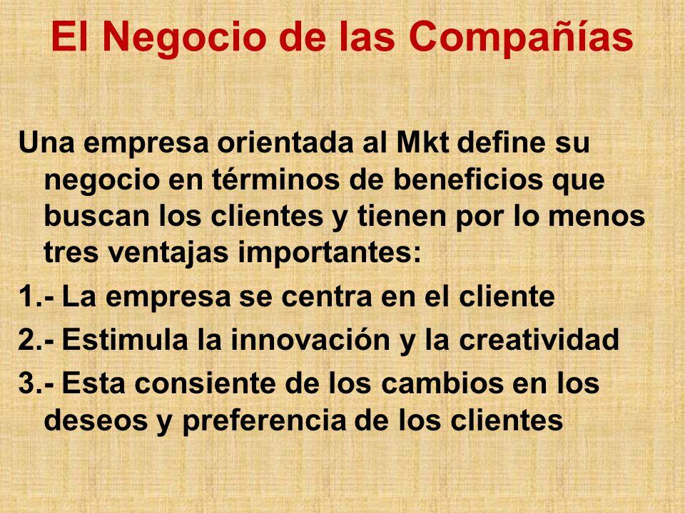 El Negocio de las Compañías