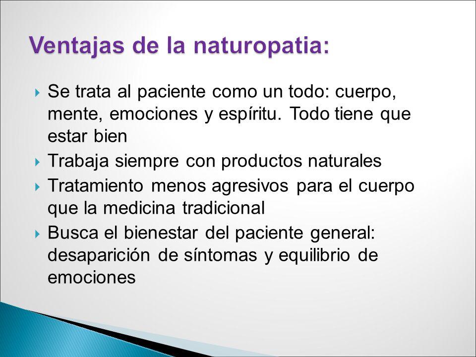 NATUROPATIA Y TERAPIAS COMPLEMENTARIAS - ppt video online