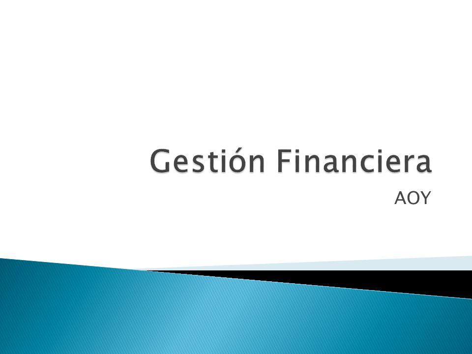 Gestión Financiera AOY