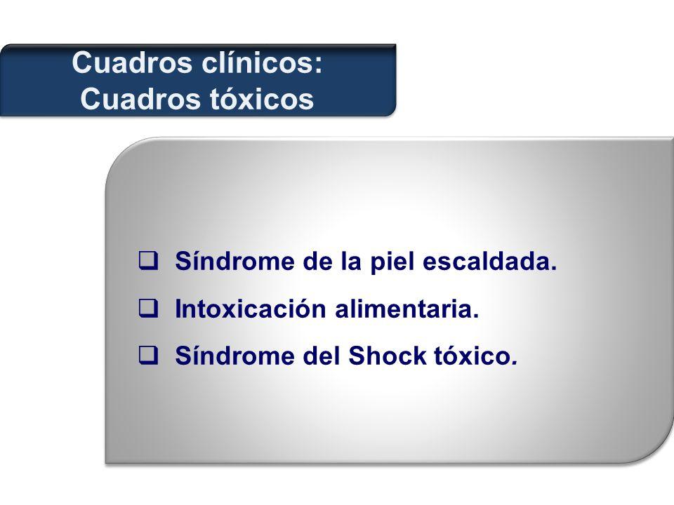 Cuadros clínicos: Cuadros tóxicos