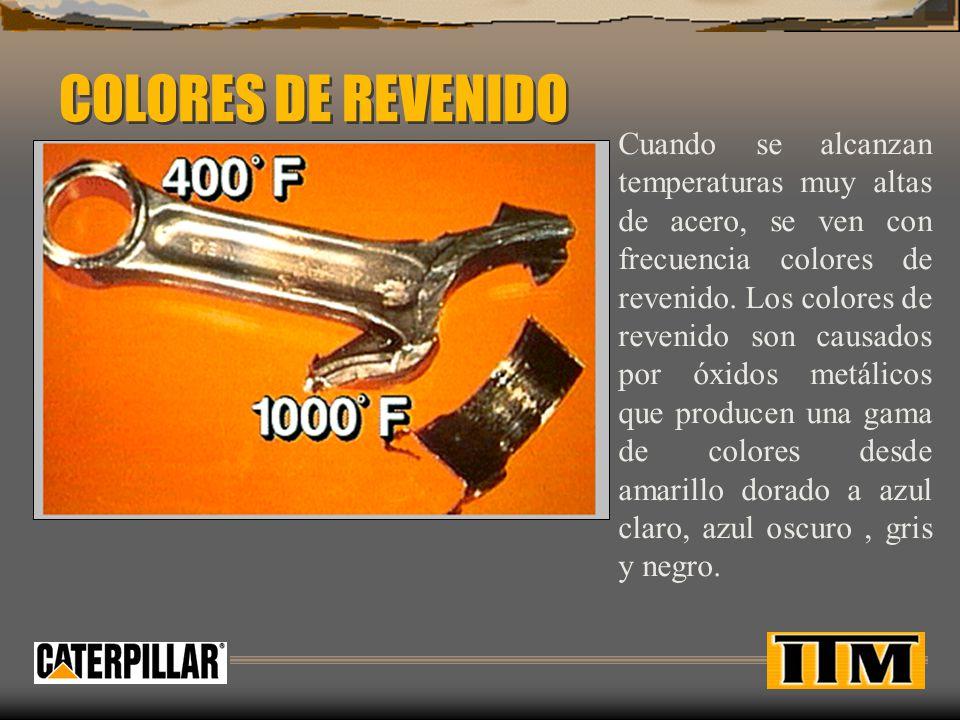 COLORES DE REVENIDO
