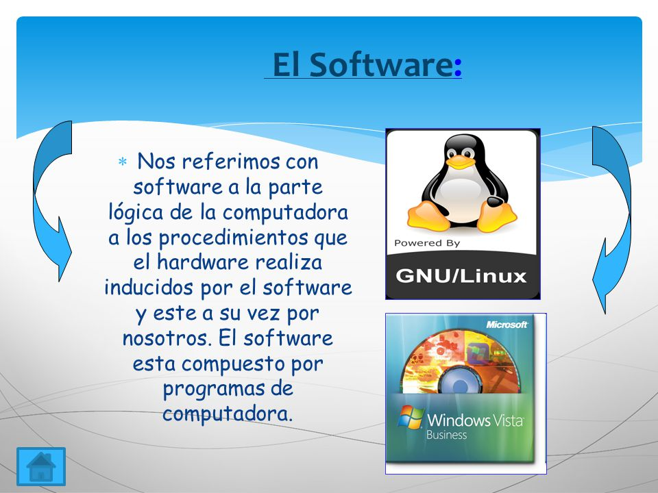 El Software: