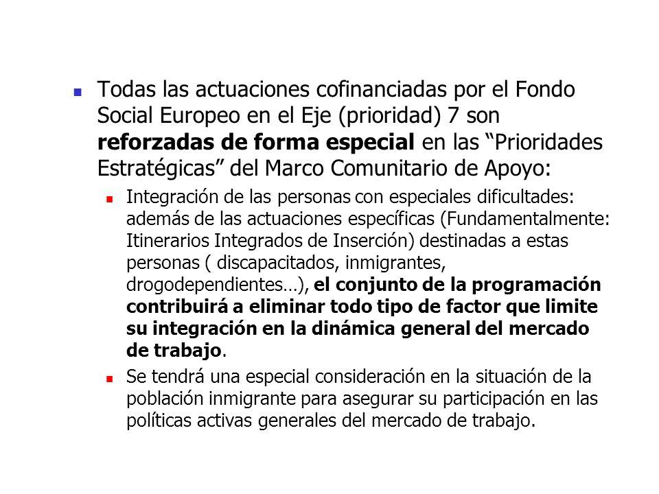 PRIORIDAD 7.- INTEGRACIÓN LABORAL DE LAS PERSONAS CON ESPECIALES ...