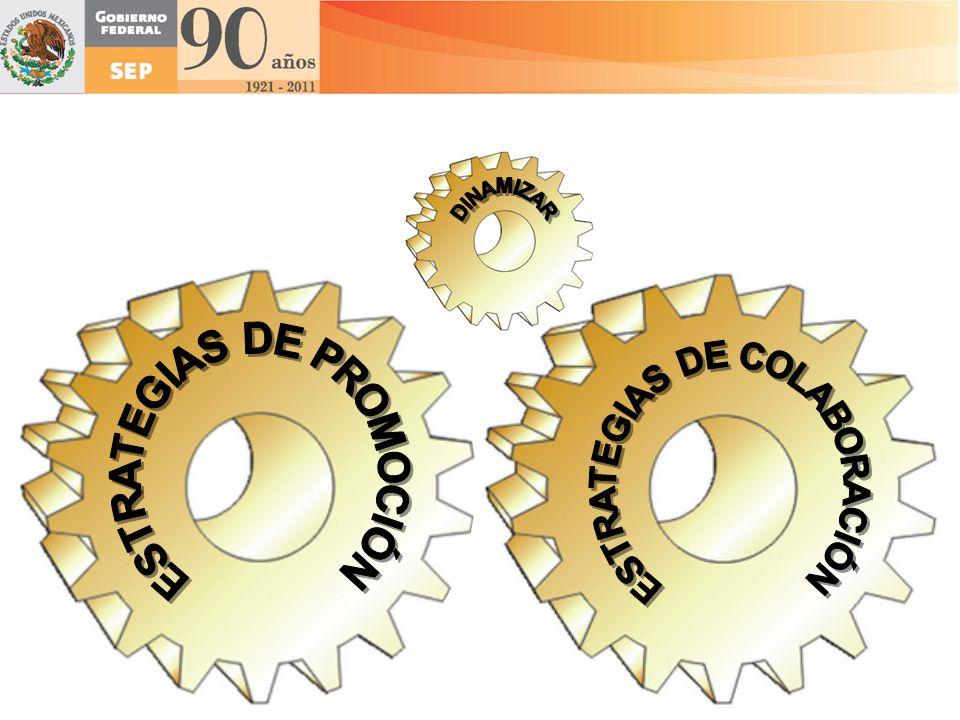 ESTRATEGIAS DE PROMOCIÓN ESTRATEGIAS DE COLABORACIÓN