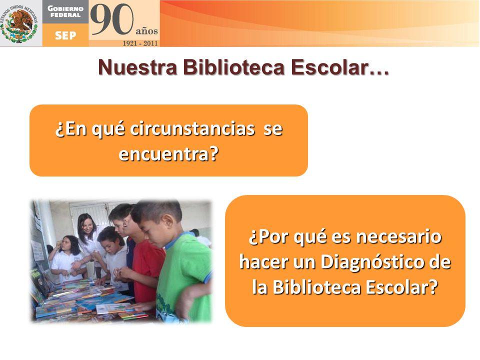 Nuestra Biblioteca Escolar…