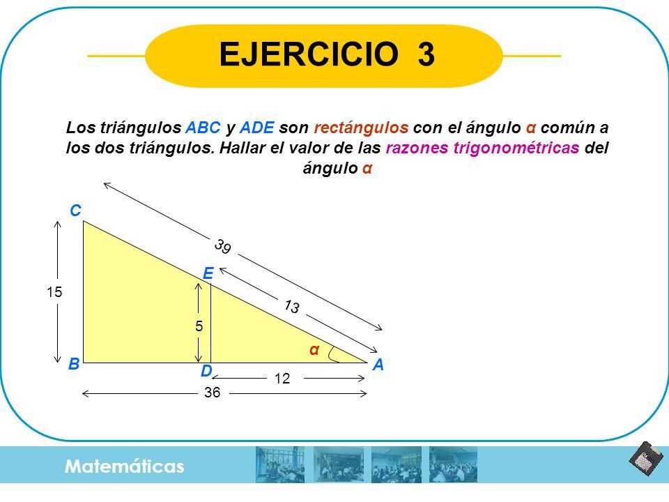 EJERCICIO 3 Matemáticas