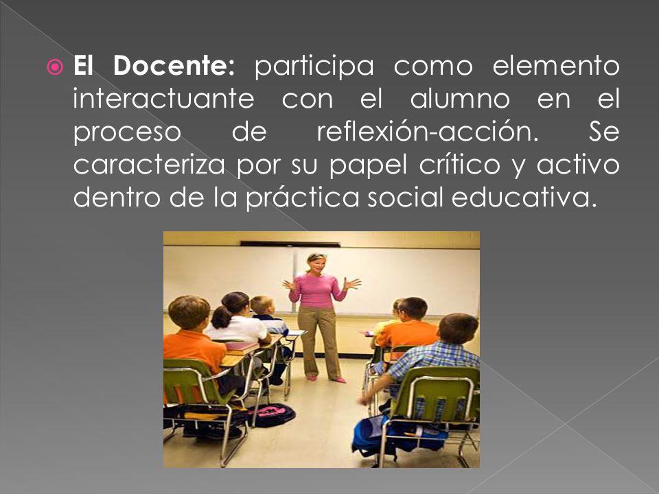 El alumno y el docente en los enfoques curriculares ppt for La accion educativa en el exterior