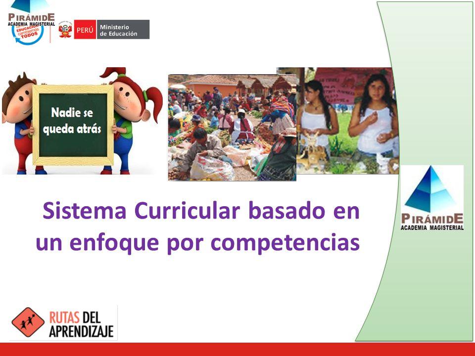 Sistema Curricular basado en un enfoque por competencias