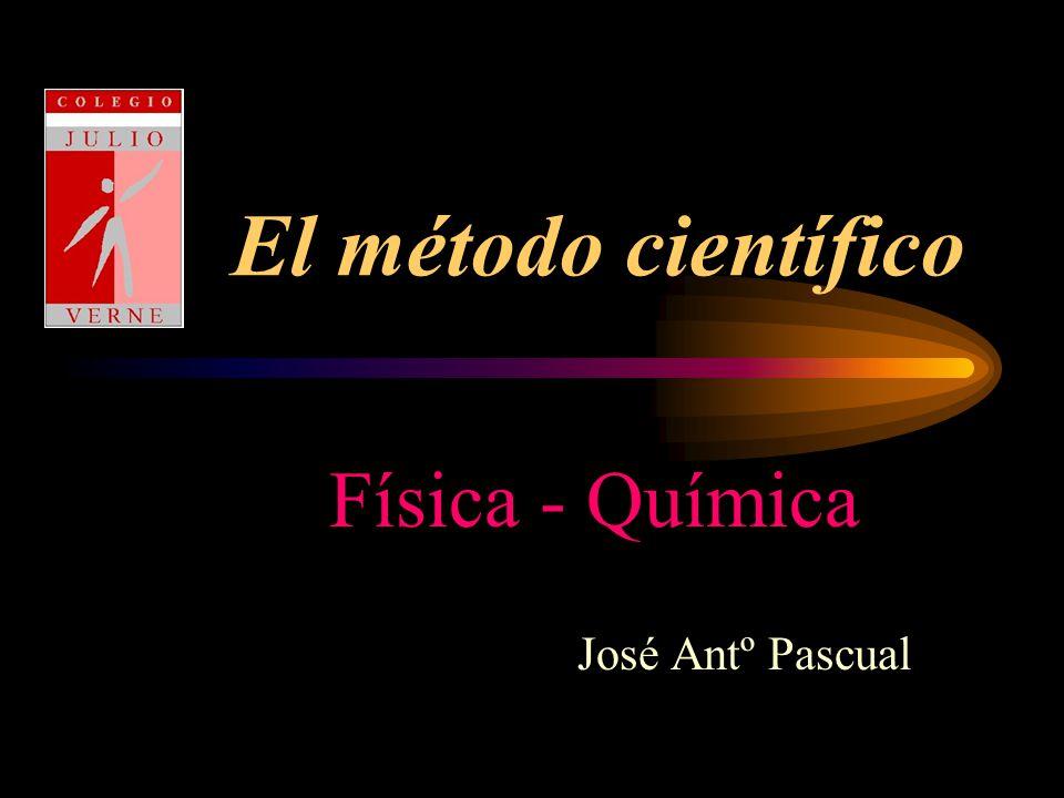 Física - Química José Antº Pascual