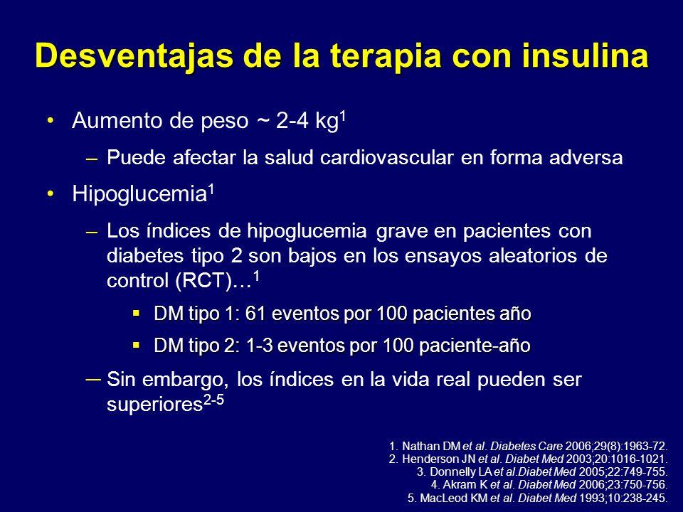 El uso de insulina en Diabetes tipo 2 - ppt descargar