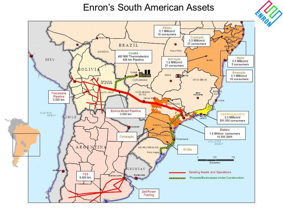 Enron's South American Assets