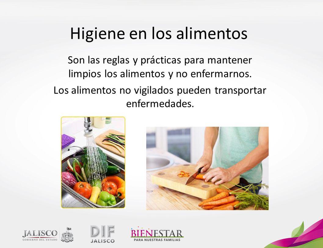 Higiene en los alimentos