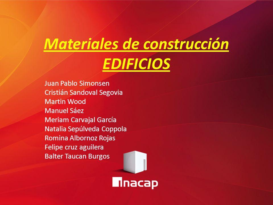 Materiales de construcci n edificios ppt video online - Materiales de construccion on line ...