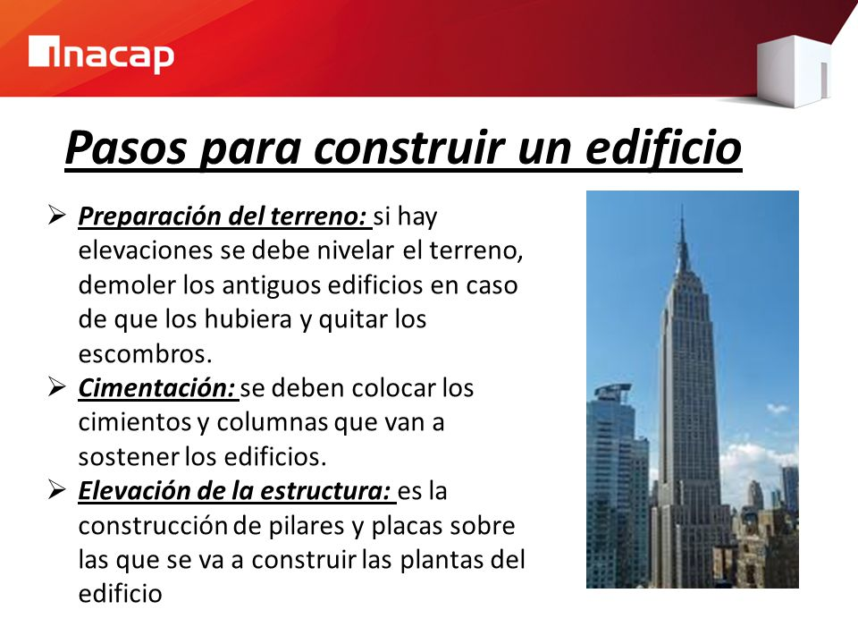 Materiales de construcci n edificios ppt video online for Videos de construccion de edificios