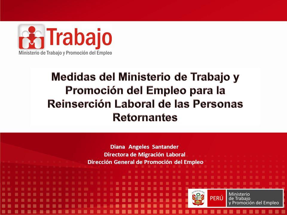 Medidas del ministerio de trabajo y promoci n del empleo for Ministerio de trabajo