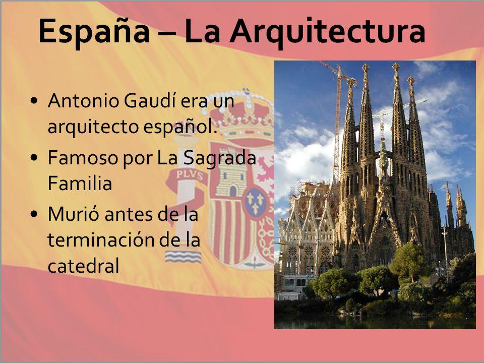 Espa a unidad 5 espa ol ppt descargar - Arquitecto espanol famoso ...