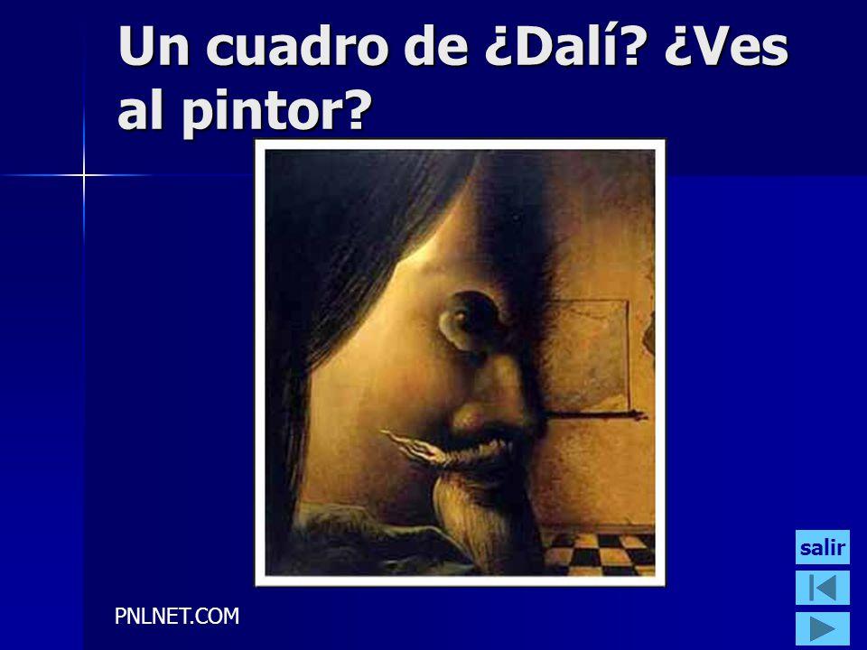 Un cuadro de ¿Dalí ¿Ves al pintor