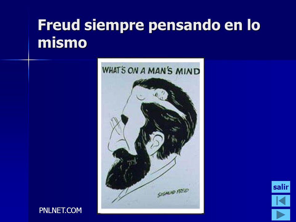 Freud siempre pensando en lo mismo