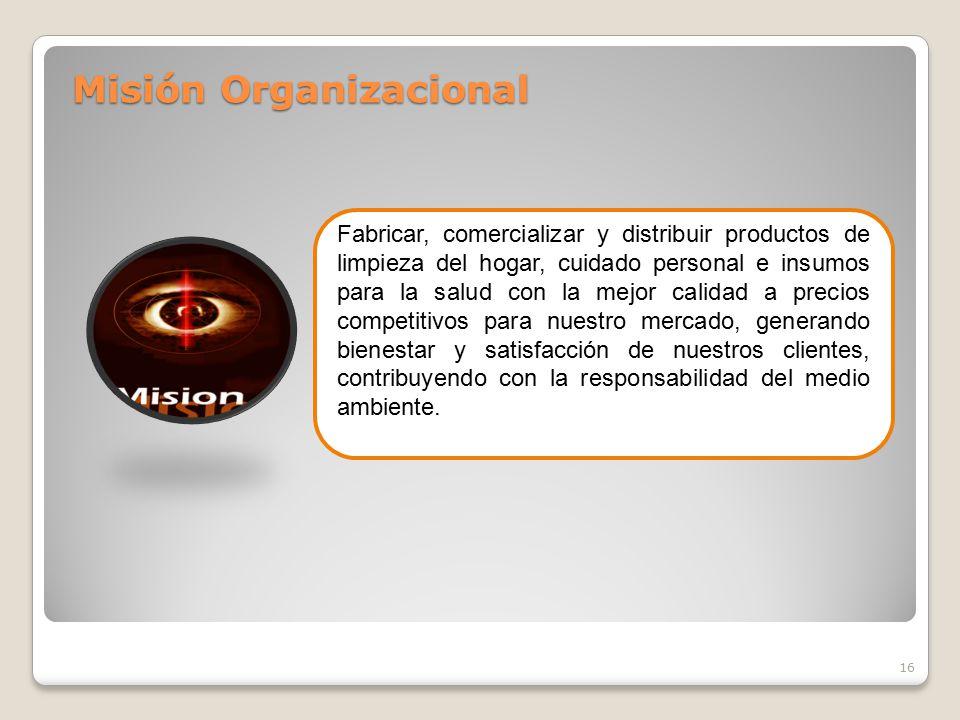 Misión Organizacional