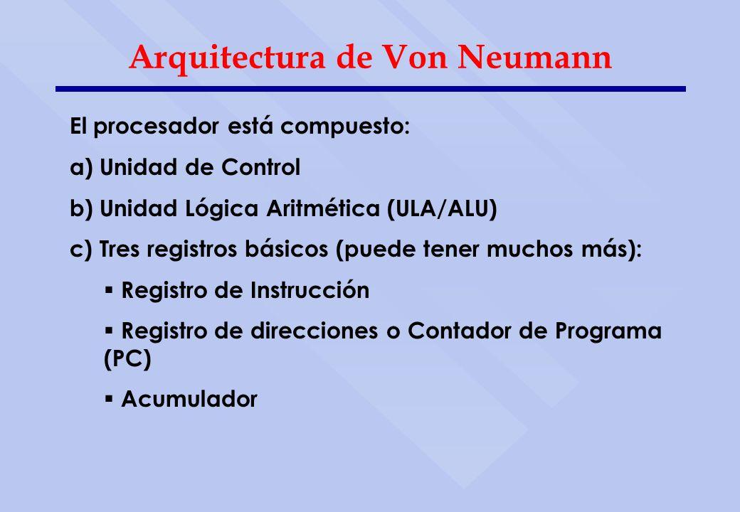 Arquitectura De Von Neumann Ppt Descargar